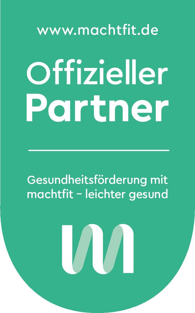 Offizielles Partnersiegel von machtfit