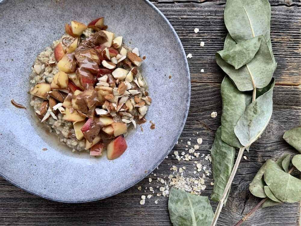 Lieblings-Apfel-Nuss-Porridge
