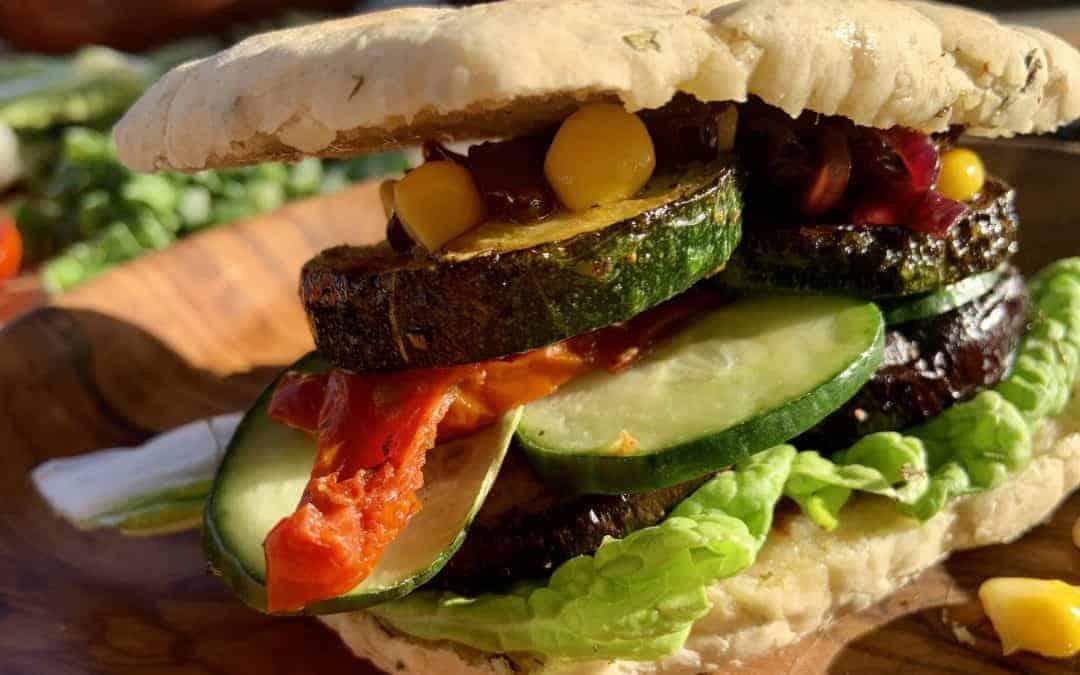 Ayurvedischer Grill Burger