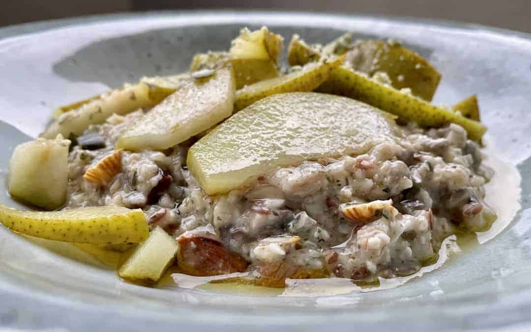 Rezept cremiges Ayurveda-Birnen-Porridge